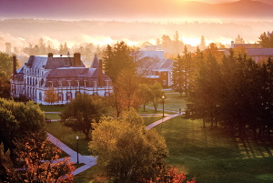 Photograph of Middlebury College by Bridget Besaw