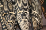Masks made in Zambia