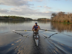 sculling in Florida, All American Rowing Camp